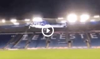 elicottero leicester schianto video