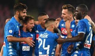 Napoli Sassuolo 2-0