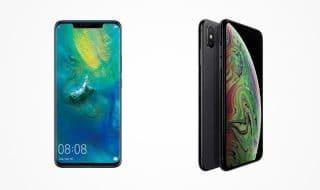 Huawei Mate 20 vs iPhone XS