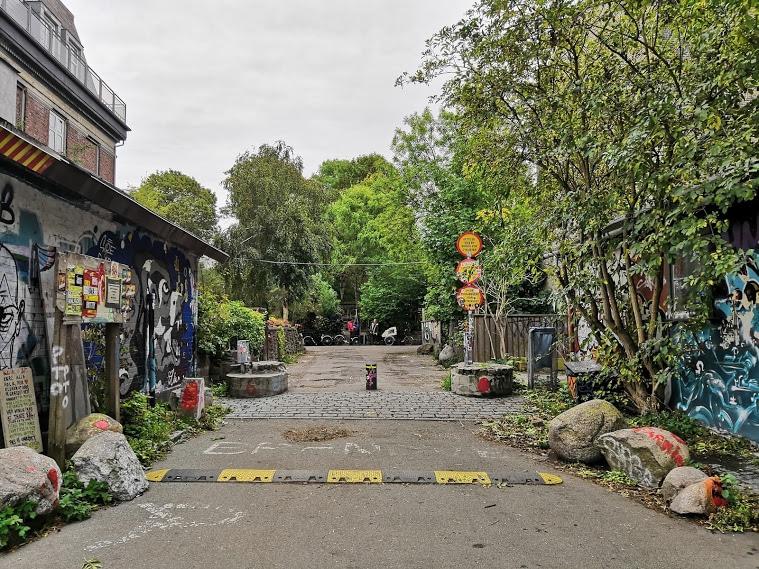 Ingresso di Christiania