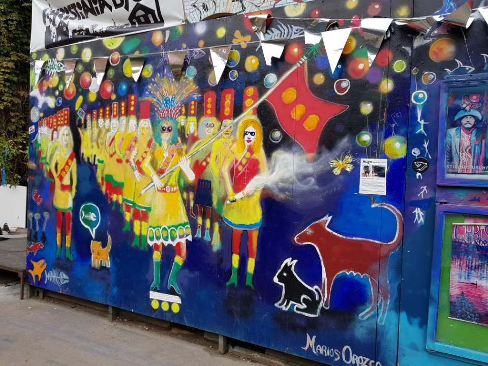 Murales a Christiania