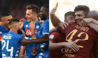 Napoli Roma diretta live risultato