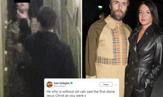 Liam Gallagher aggressione fidanzata