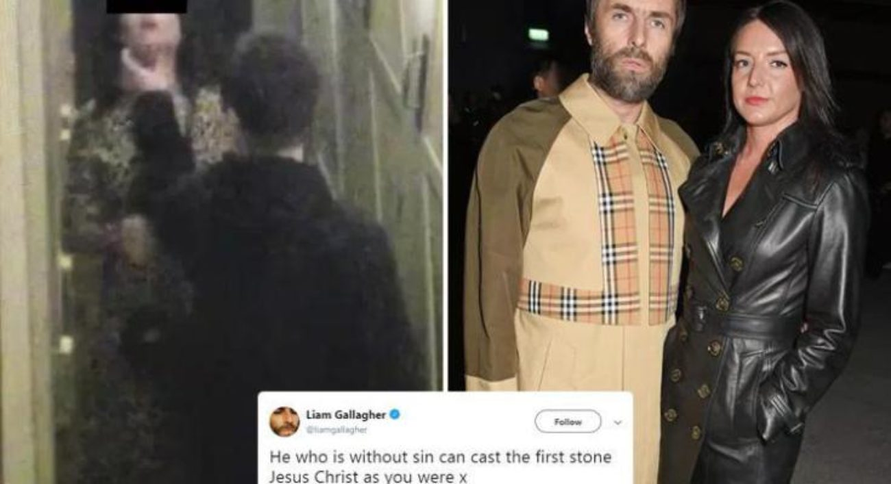 Liam Gallagher aggressione fidanzata