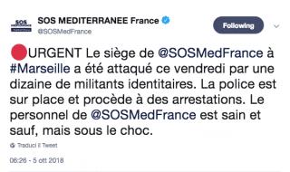 attacco sede sosmed francia
