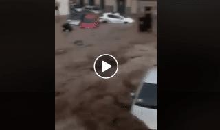 spagna alluvione maiorca