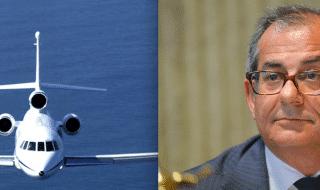 ministro Tria aereo di Stato