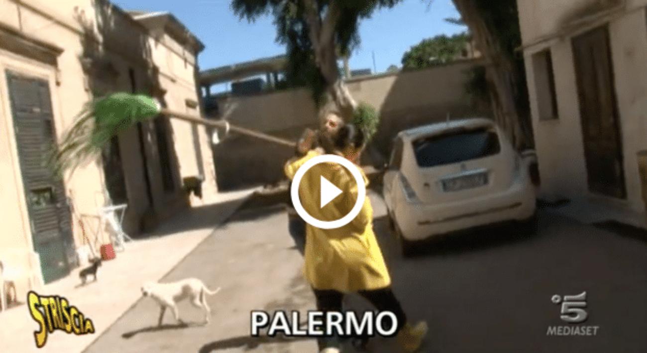 Palermo, l'inviata di