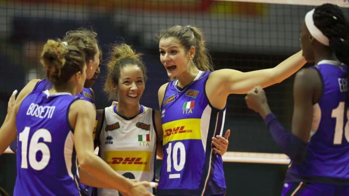Italia Stati Uniti Volley femminile Mondiali 2018 streaming tv