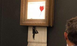 Banksy opera autodistrutta