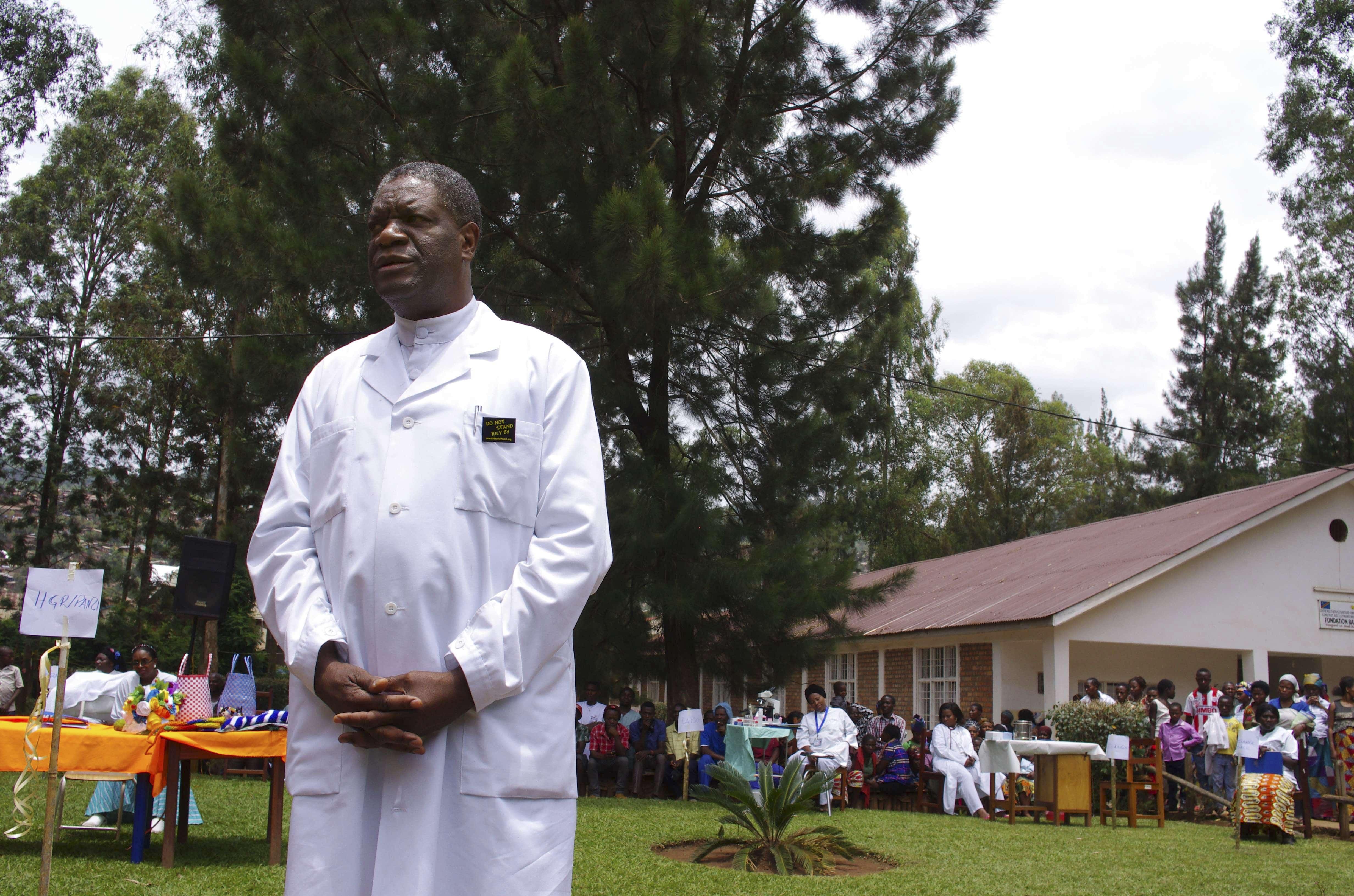 Denis Mukwege stupri congo