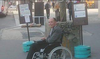 disabile bus autista