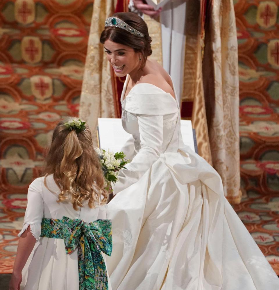 24237d9aa93e Matrimonio Eugenia di York  le nozze da favola con Jack Brooksbank