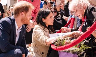 principe harry incontra superfan 98 anni