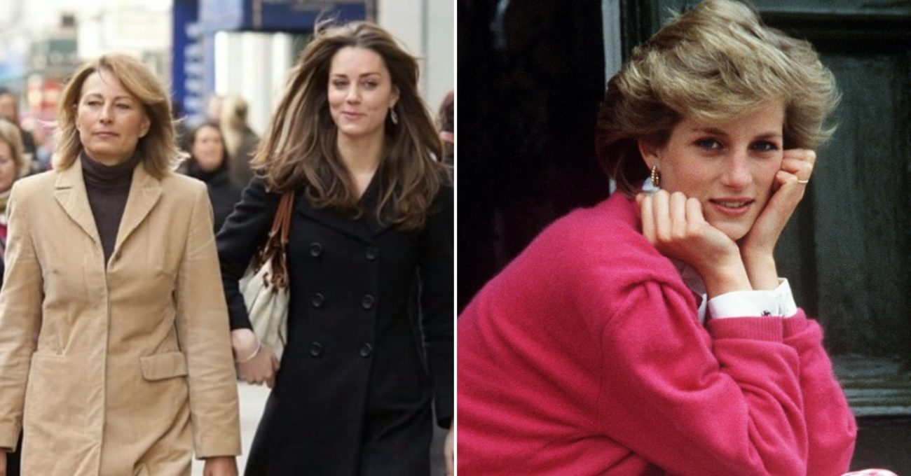 kate middleton madre lady d