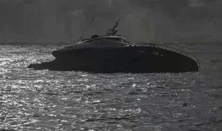 maltempo rapallo yacht pier silvio berlusconi