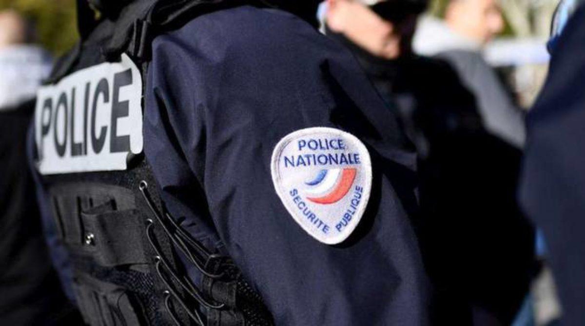 poliziotto francese minacce migrante