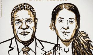 Denis Mukwege e Nadia Murad nobel pace 2018