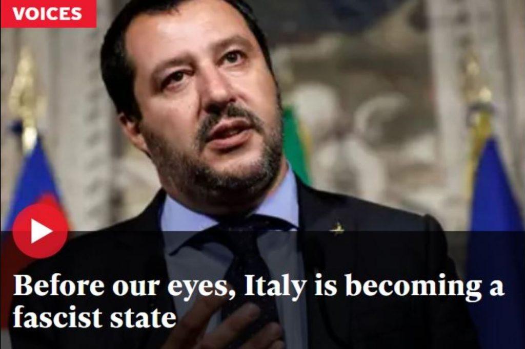 Independent italia fascista