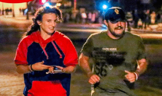 salvini jogging