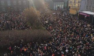 sciopero donne islanda lavoro
