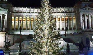 Albero di Natale Roma 2018