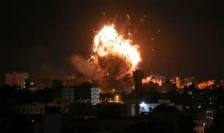 striscia gaza bombardamenti morti