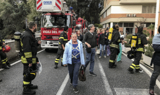 incendio ospedale san pietro roma