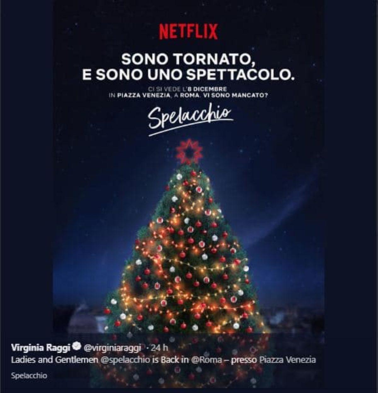 Albero Di Natale 8 Dicembre.Albero Di Natale Roma 2018 8 Dicembre Accensione Ufficiale Spelacchio 2