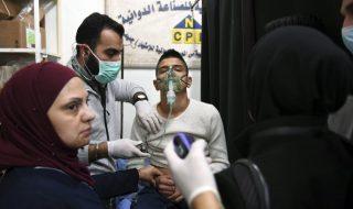 attacco gas aleppo siria
