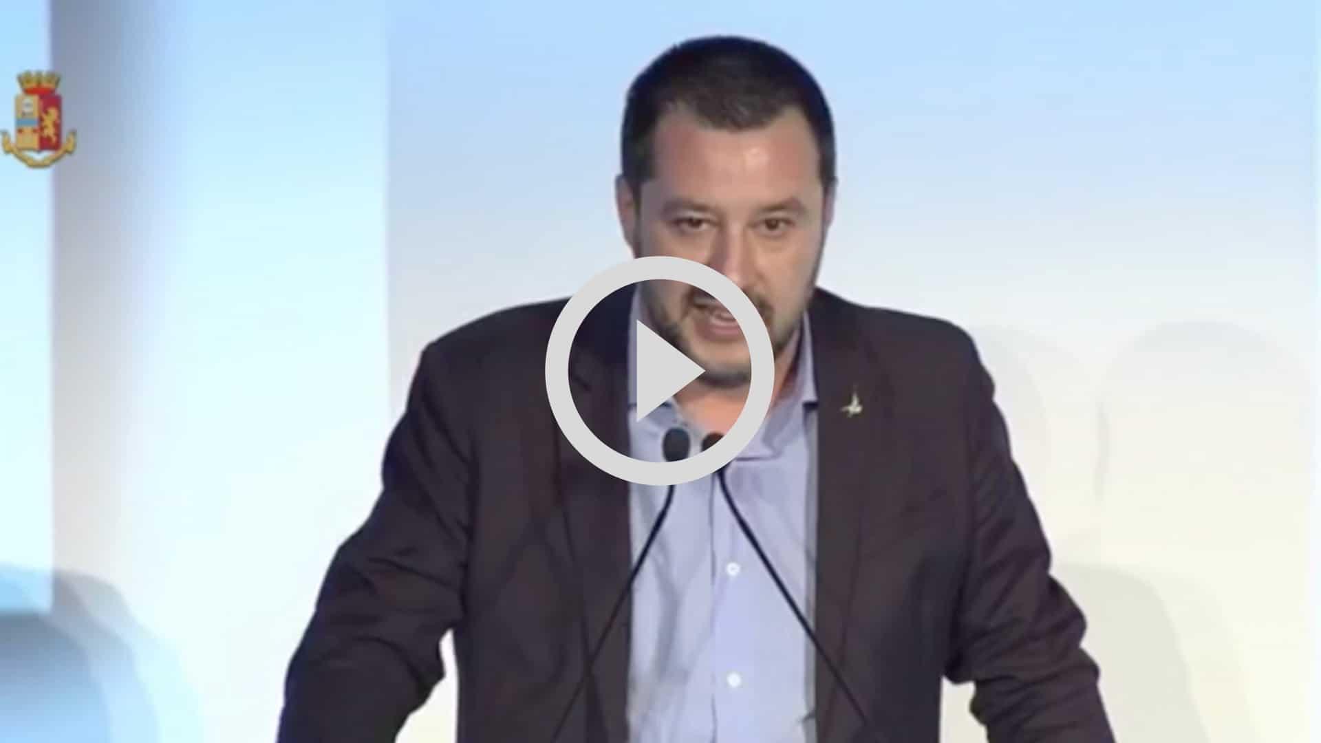 """Matteo Salvini confessa: """"Mio figlio Federico sciopera contro di me"""""""