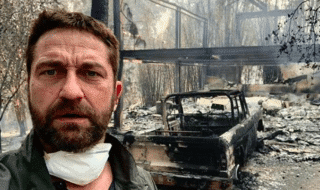 gerard butler incendio california
