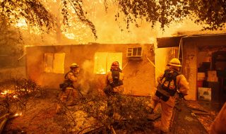california incendio
