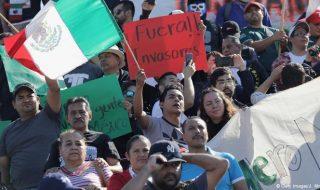 messico protesta migranti