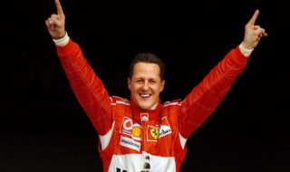 michael schumacher guerriero