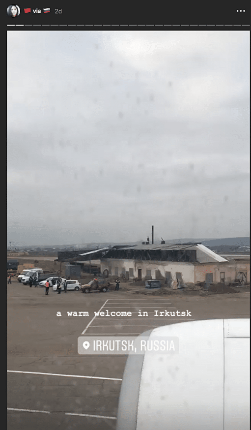 passeggeri bloccati siberia