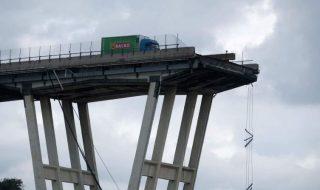 ponte morandi bobina tir
