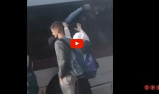 roma atac studenti finestrino