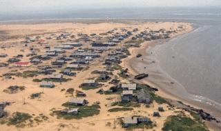 villaggio russo sabbia