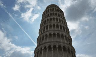 torre pisa pende meno