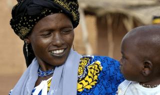 Donna Peul (Fulani) in Burkina Faso