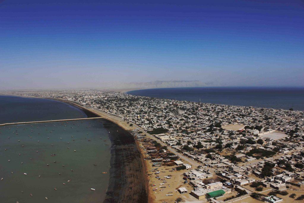 città di Gwadar, in Pakistan