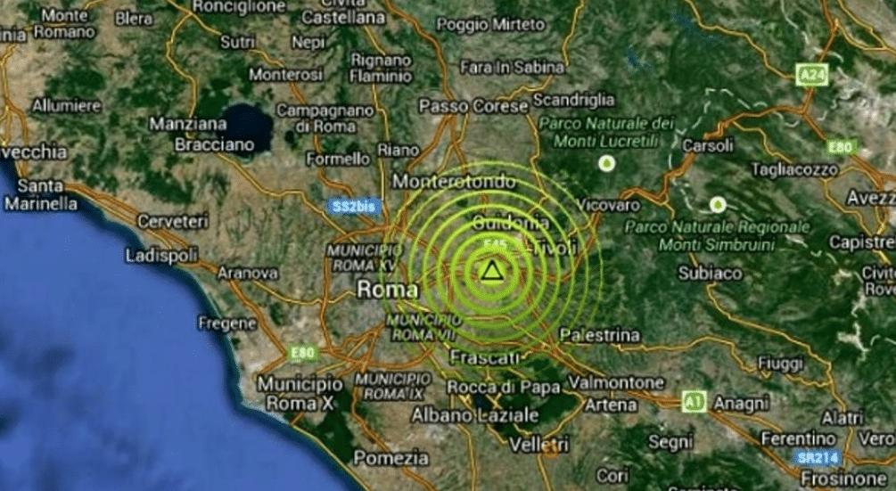 Terremoto oggi ultim 39 ora tutte le scosse in tempo reale for Ingv lista terremoti di oggi