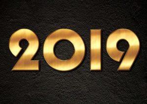 immagini auguri buon anno 2019