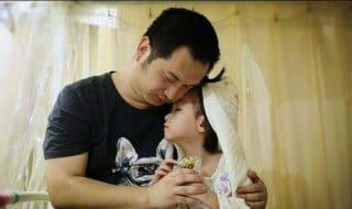 bambina leucemia sposa padre