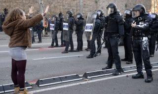 barcellona proteste indipendentisti