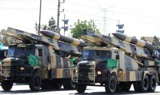 iran test missile balistico