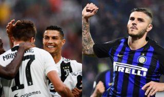 Juventus Inter formazioni ufficiali