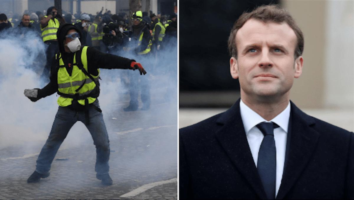 Macron,non sminuisco la collera, è giusta