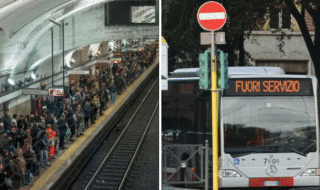 bus metro roma